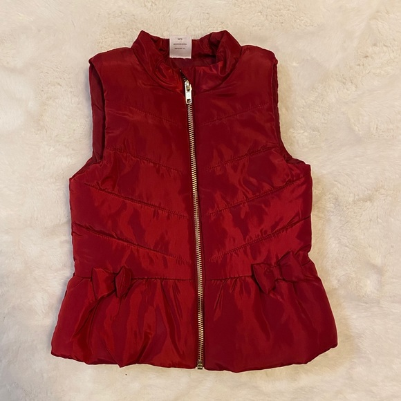 wonder nation Other - Toddler red zip up puffer vest sz 3t